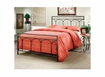 Iron Bed / Metal Bed - Mckenzie Bed in Silver Putty - Hillsdale Furniture