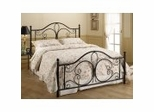 Iron Bed / Metal Bed - Milwaukee Bed in Antique Brown Finish - Hillsdale Furniture