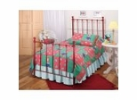 Iron Bed / Metal Bed - Molly Bed in Red - Hillsdale Furniture