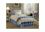 Iron Bed / Metal Bed - Molly Bed in White - Hillsdale Furniture