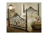 Iron Bed / Metal Bed - Parkwood Bed in Black Gold - Hillsdale Furniture
