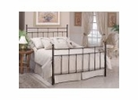 Iron Bed / Metal Bed - Providence Bed in Antique Bronze Finish - Hillsdale Furniture