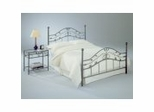 Iron Bed / Metal Bed - Sycamore Bed in Hammered Copper Finish - Fashion Bed Group