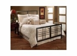 Iron Bed / Metal Bed - Tiburon Bed in Magnesium Pewter - Hillsdale Furniture