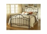 Iron Bed / Metal Bed - Venetian Bed in Old Bronze - Hillsdale Furniture