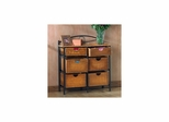 Iron/Wicker Storage Chest - Holly and Martin