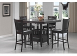 Jaden Square Counter Height Table & Cushioned Stool Set - 100958