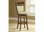 Jefferson Swivel Bar Stool with Cushion Back - Hillsdale Furniture - 4975-830