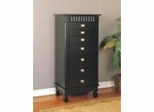"Jewelry Armoire - Contemporary ""Merlot"" - Powell Furniture - 383-316"