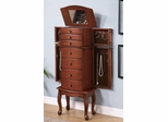 Jewelry Armoire in Warm Brown - Coaster