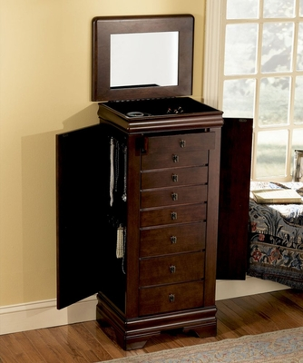 Jewelry Armoire - Louis Philippe