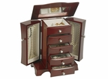 Jewelry Box in Cherry - Bette - Jewelry Boxes by Mele - 0074311