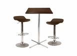 Kallie 3-Pc Square Pub Table - Winsome Trading - 93353