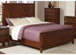 Katharine Queen Bed in Oak - 202691Q
