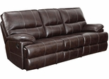 Kevin Transitional Motion Sofa with Drop Down Console and Drawer - 601271