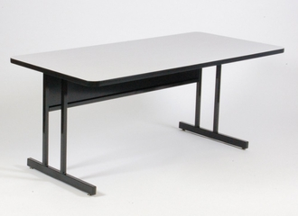 """Keyboard Height Computer Table 24"""" x 48"""" - Correll Office Furniture - CS2448"""