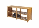 Keystone Shoe Bench - Winsome Trading - 33348