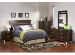 Kids Bedroom Furniture Set 2 in Chocolate - South Shore Furniture - 3259-BSET-2