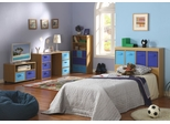 Kids Bedroom Furniture Set in Beech - 4D Concepts - 12300-SET