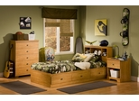 Kids Bedroom Furniture Set in Florence Maple - South Shore Furniture - 3575-BSET-1