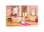 Kids Bedroom Furniture Set in Romantic Pine - South Shore Furniture - 3272-BSET-1
