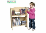 Kids Bookshelf - Stacking Bookshelf in Natural - Guidecraft - G6431