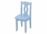 Kids Chair and Seating - Brighton Chair in Sky Blue - KidKraft Furniture - 16707