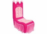 Kids Chair and Seating - Princess Chair in Pink - LumiSource - CHR-PRINCESS