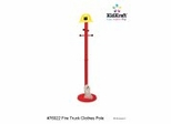 Kids Coat Rack - Firefighter Clothes Pole - KidKraft Furniture - 76022