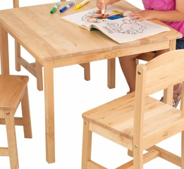 Kids Table And Chair Set Farmhouse Table And Four Chairs Kidkraft Furniture 21421 Kids Table And Chair Sets