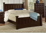 King Size Bed - Harbor Eastern King Size Bed in Rich Cappuccino - Coaster - 201381KE