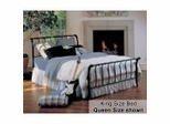 King Size Bed - Janis Eastern King Size Bed Metal Bed