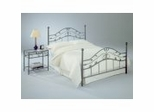 King Size Bed - Sycamore King Size Bed in Hammered Copper - Fashion Bed Group - B91496