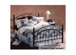 King Size Bed - Willow Eastern King Size Metal Bed