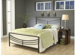 Kingston Queen Size Bed in Brown - Hillsdale Furniture - 1503BQR