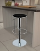 Krew Barstool in Black - Bellini Modern Living - KREW-BS-BLK