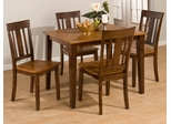 Kura Espresso and Canyon Gold Five Piece Dining Set - 875-40