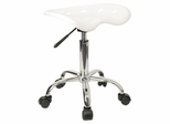 Lab Stool in White - LF-214A-WHITE-GG