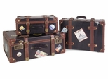Labeled Suitcases (Set of 3) - IMAX - 5972-3