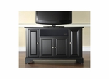"Lafayette 48"" AroundSound TV Stand in Black - CROSLEY-KF1002BASBK"