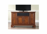 "Lafayette 48"" AroundSound TV Stand in Classic Cherry - CROSLEY-KF1002BASCH"