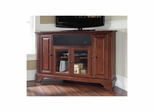 "Lafayette 48"" Corner AroundSound TV Stand in Vintage Mahogany - CROSLEY-KF1006BASMA"