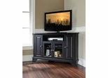 "LaFayette 48"" Corner TV Stand in Black - CROSLEY-KF10006BBK"