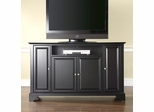 "LaFayette 60"" TV Stand in Black Finish - Crosley Furniture - KF10001BBK"
