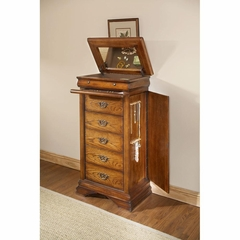 Lafayette Lingerie Jewelry Chest American Oak - Largo - LARGO-ST-B4350-31