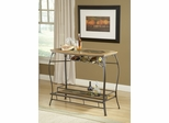Lakeview Bar in Brown / Medium Oak Finish Wood - Hillsdale Furniture - 4264-890