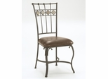 Lakeview Dining Chair with Slate in Back (Set of 2) in Brown - Hillsdale Furniture - 4264-802