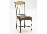 Lakeview Dining Chair with Wood Panel in Top (Set of 2) in Brown/ Medium Oak - Hillsdale Furniture - 4264-803