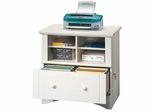 Lateral File Antiqued White - Sauder Furniture - 158002 Harbor View
