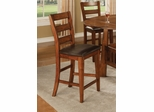 "Lavista 24"" Bar Stool (Set of 2) in Dark Oak - Coaster - 102159-SET"